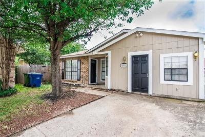 The Colony Single Family Home For Sale: 4513 Nervin Street