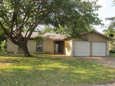 Arlington Single Family Home For Sale: 1012 Belemeade Street