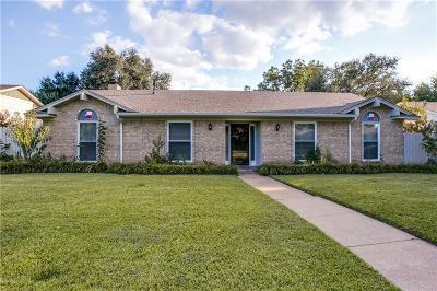 Richardson Single Family Home For Sale: 1816 Tulane Drive
