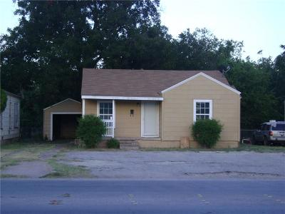 Abilene Single Family Home For Sale: 2025 Butternut Street