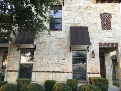 McKinney Townhouse For Sale: 8920 Paradise Drive