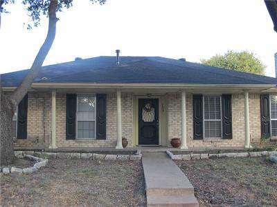 Garland Single Family Home For Sale: 733 Briar Way