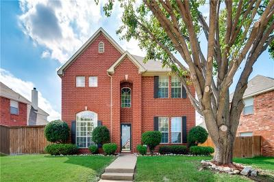 Plano TX Single Family Home Active Option Contract: $385,000