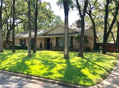 Euless Single Family Home Active Option Contract: 207 Timberlane Terrace