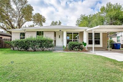Carrollton Single Family Home Active Option Contract: 1104 Noble Avenue