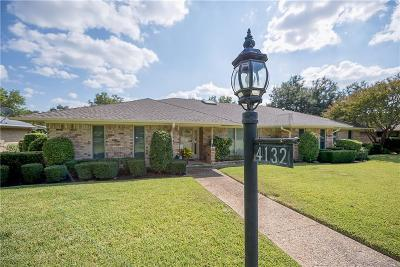 Dallas Single Family Home For Sale: 4132 Willow Ridge Drive