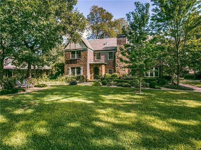 Dallas, Fort Worth Single Family Home For Sale: 8206 Santa Clara Drive
