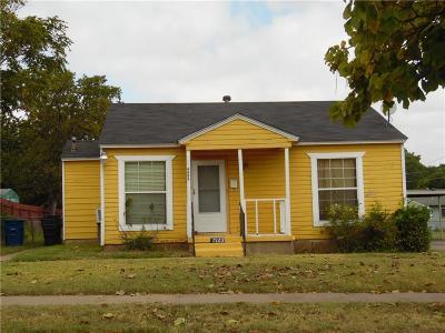 Dallas TX Single Family Home For Sale: $58,500