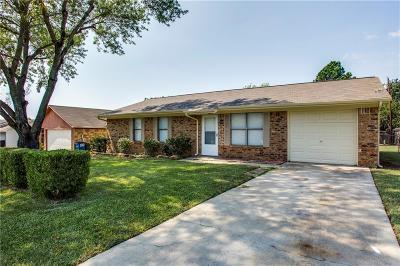Single Family Home For Sale: 1802 Oak Hill Drive