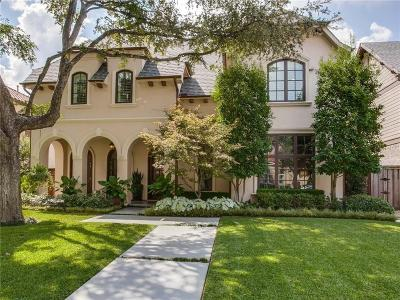Highland Park, University Park Single Family Home For Sale: 4113 Colgate Avenue