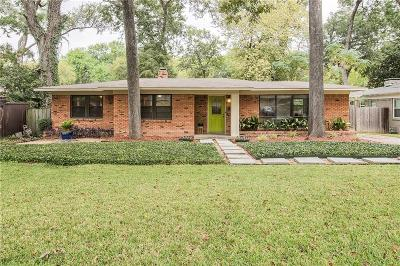 Dallas Single Family Home For Sale: 10335 Lake Gardens Drive
