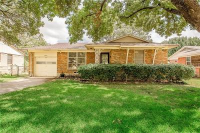 Richardson Single Family Home For Sale: 804 Lorrie Drive