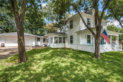 McKinney Single Family Home For Sale: 1015 N College Street