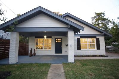 Dallas Single Family Home For Sale: 139 W 5th Street