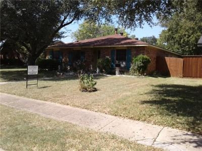 Dallas Single Family Home For Sale: 7315 Lost Canyon Drive