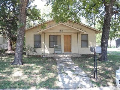 Brownwood Single Family Home For Sale: 1405 Ave I