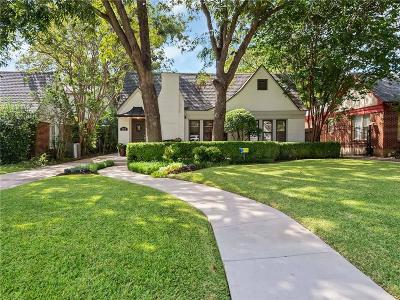 Fort Worth Single Family Home For Sale: 2212 Carleton Avenue