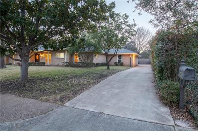 Dallas, Addison Single Family Home For Sale: 4435 College Park Drive