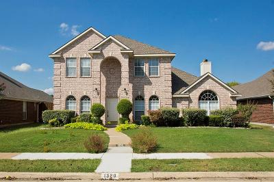 Allen Single Family Home For Sale: 1320 Canterbury Drive