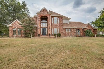 Haslet Single Family Home Active Option Contract: 2215 White Lane