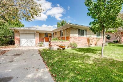 Mesquite Single Family Home For Sale: 611 Warren Street