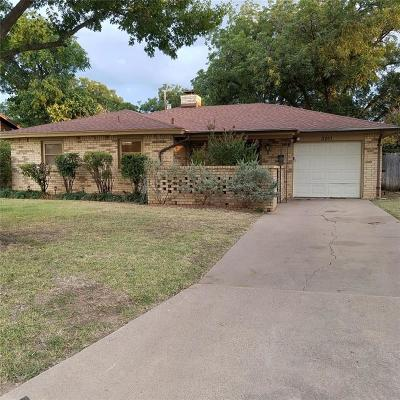 Abilene Single Family Home For Sale: 3201 S 22nd Street
