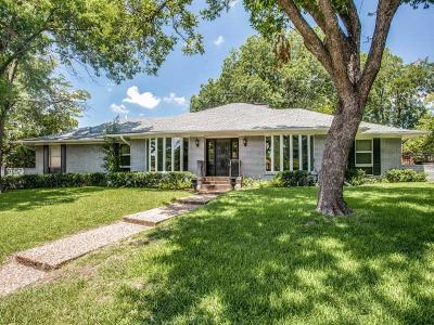 Dallas, Addison Single Family Home For Sale: 7317 Fieldgate Drive
