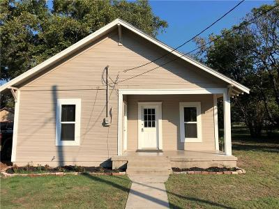 Stephenville TX Single Family Home For Sale: $124,900