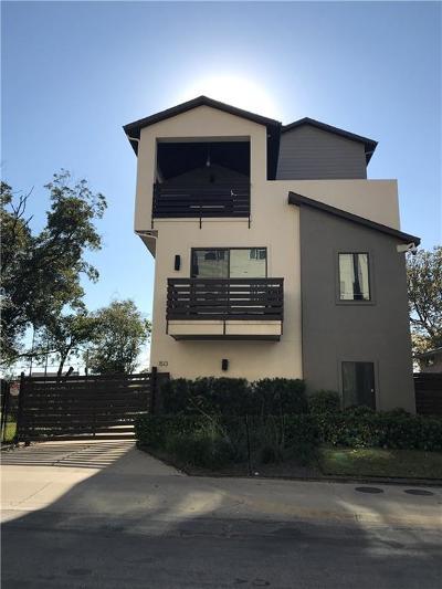 Dallas Half Duplex For Sale: 1513 N Haskell Avenue #101