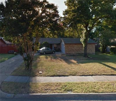 Richardson Single Family Home For Sale: 1701 N Waterview Drive