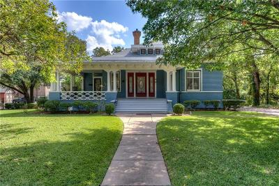 Denton Single Family Home Active Option Contract: 705 W Oak Street