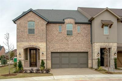 Lewisville Townhouse For Sale: 2482 King Arthur Boulevard
