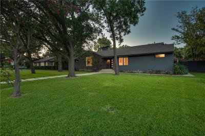 Dallas Single Family Home For Sale: 4339 Northcrest Road