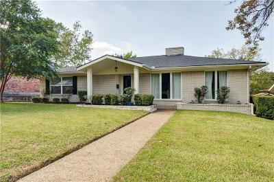 Single Family Home For Sale: 9517 Crestlake Drive