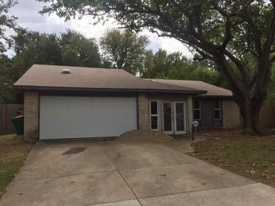 Lewisville Single Family Home For Sale: 802 Salem Trail