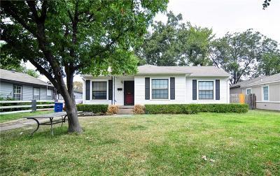 Dallas Single Family Home For Sale: 2009 Tisinger Avenue