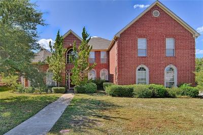 Arlington Single Family Home For Sale: 3906 Parker Oaks Place