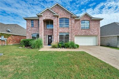 Haltom City Single Family Home For Sale: 5787 Echo Bluff Drive