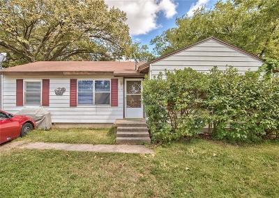 Garland Single Family Home Active Option Contract: 2116 Camden Drive