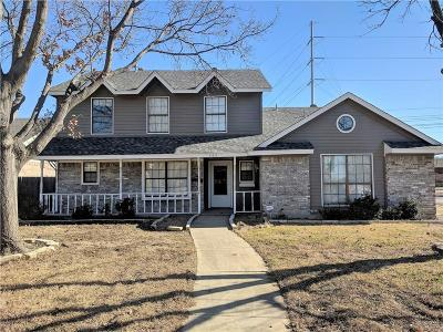 Lewisville Single Family Home Active Option Contract: 569 Calvert Court