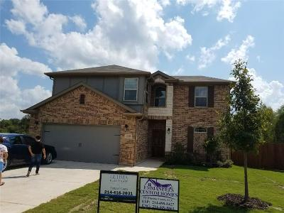 Single Family Home For Sale: 1205 Bronner Drive
