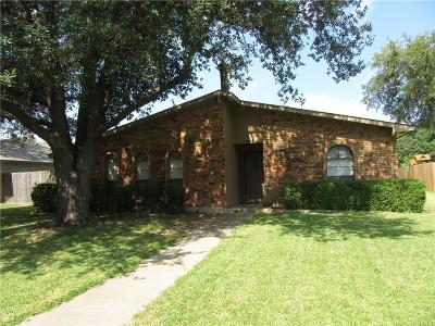 Garland Single Family Home Active Option Contract: 1409 Paris Drive