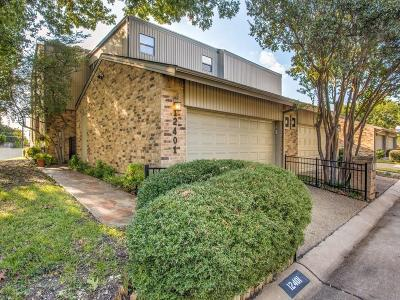 Townhouse For Sale: 12401 Montego Plaza