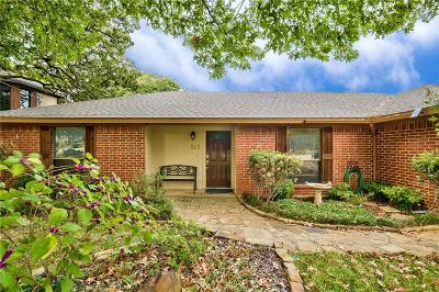 Lake Dallas Single Family Home Active Option Contract: 513 Meadowbrook Street