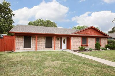 Garland Single Family Home Active Option Contract: 514 Monticello Court