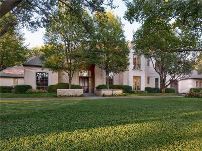 Dallas Single Family Home For Sale: 4607 Valley Ridge Road