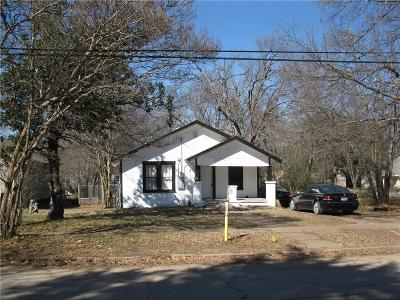 Corsicana Single Family Home For Sale: 1504 Maplewood Avenue