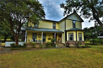 Combine Single Family Home For Sale: 243 Valtie Davis Road