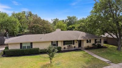 Dallas Single Family Home Active Option Contract: 3162 Sombrero Drive
