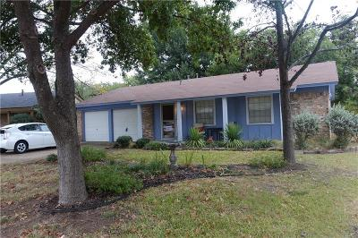 Euless Single Family Home Active Option Contract: 800 N Ector Drive